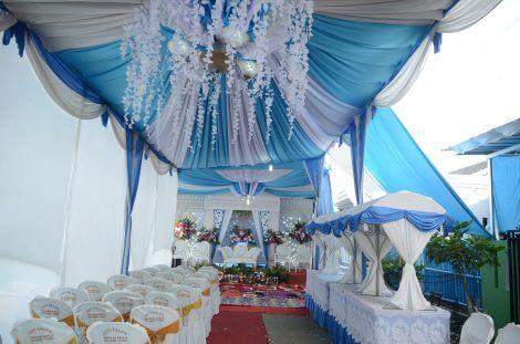 Resepsi Pernikahan Di Rumah Hemat Dan Mewah Byan Sewa Tenda